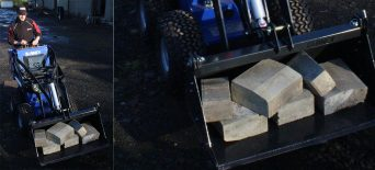 bionic mini skid steer for construction